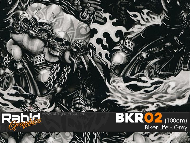 Biker Life - Grey (100cm)