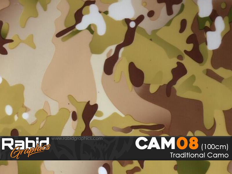 Traditional Camo (100cm)
