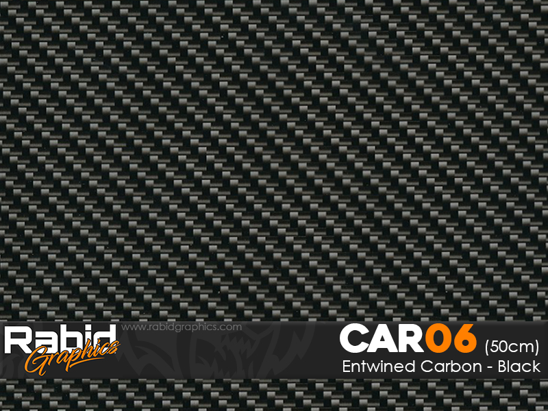 Entwined Carbon - Black (50cm)