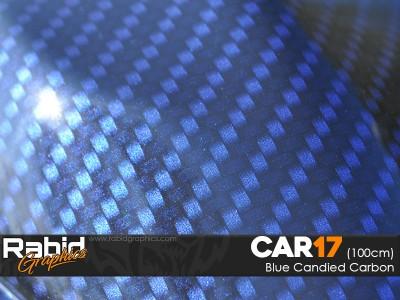 Blue Candied Carbon (100cm)