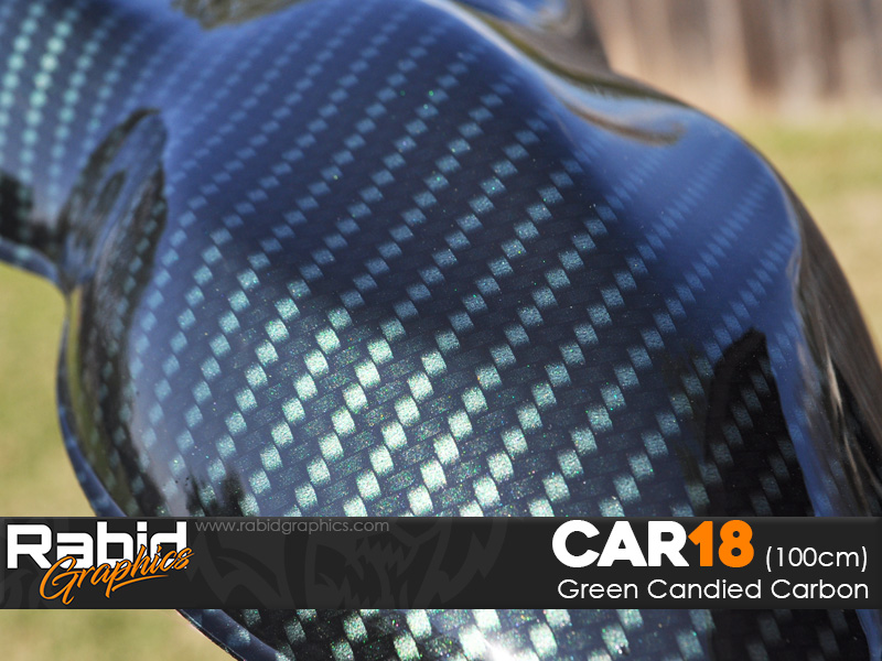 Green Candied Carbon (100cm)