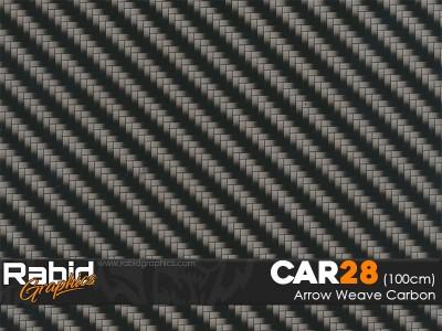 Arrow Weave Carbon (100cm)
