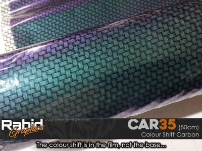Colour Shift Carbon (50cm)