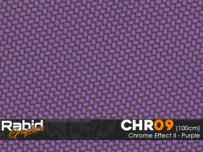 Chrome Effect II - Purple (100cm)