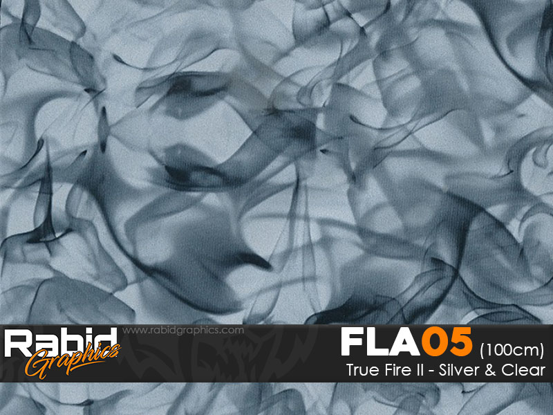 True Fire II - Silver & Clear (100cm)
