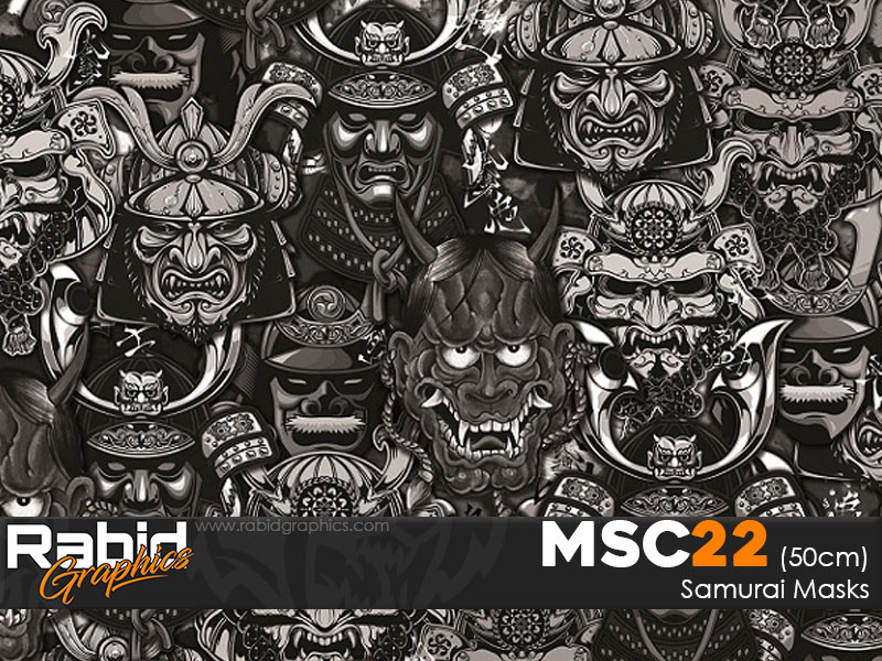 Samurai Masks (50cm)