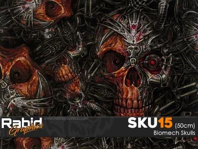 Biomech Skulls (50cm)