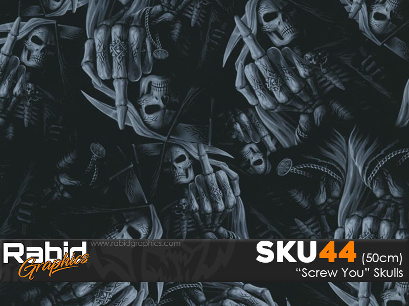 Screw You Skulls (50cm)