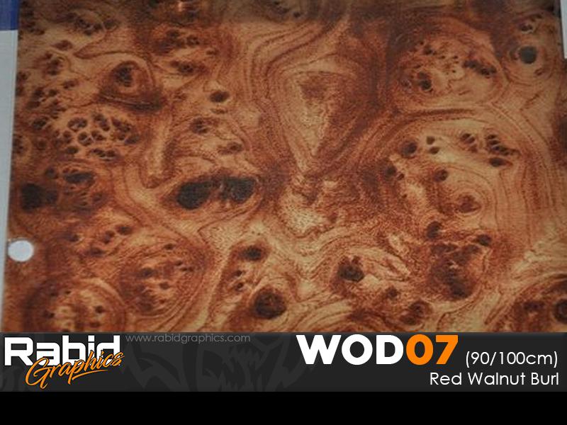 Red Walnut Burl (90cm)